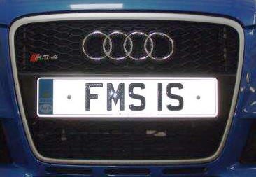 FMS1S number plate